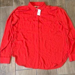 NWT Loft blouse; Size M